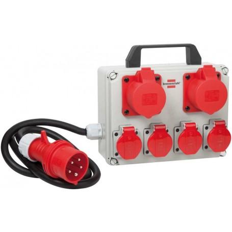Kompakter Kleinstromverteiler Bkv 2/4 T Ip 44