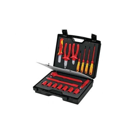 Servicekoffer Mit İsolierten Werkzeugen 17