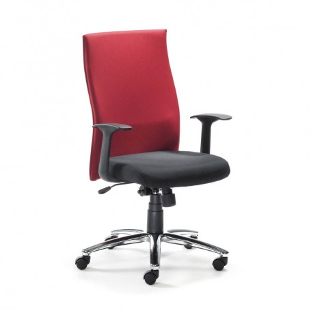Wolfstahl Ma De Ergostar Chaise Bureau Rouge D2HE9I