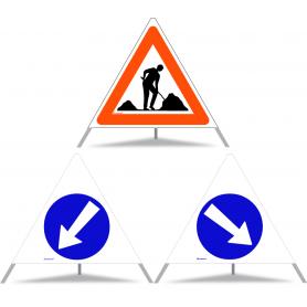 Dimelen Doppelleiter 2x3 stufen