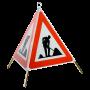 Faltsignal Construction 3x1.14 Baustelle R2.90