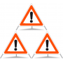 Faltsignal Construction 3x1.30 Andere Gefahren R2.90