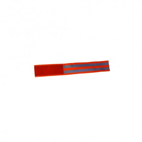 Fussgamasche rot 45x6cm L Klettverschluss und Haltehaken