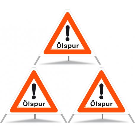 TRIOPAN-Faltsignal 60 N komplett mit Etui