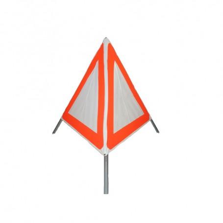 TRIOPAN-Faltsignal 90 N komplett mit Etui