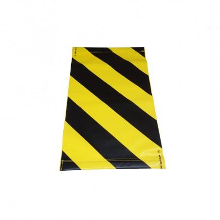Warnsignal für Hebebühne g/s 47x28cm rechtsseitig