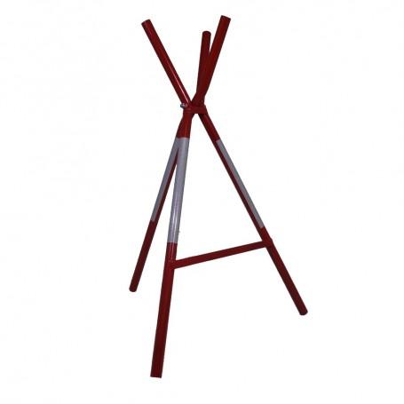 Triopan Absperrbock zusammenklappbar, bestehend aus 2 Teilen rot / weisse Ausführung (wFläche in R2)