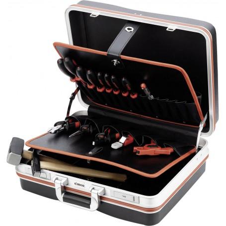 Cimco Elektriker Werkzeugkoffer bestückt 15teilig