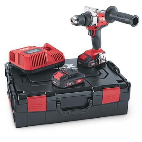 Flex-Tools 2-Gang Akku-Bohrschrauber 18,0 V