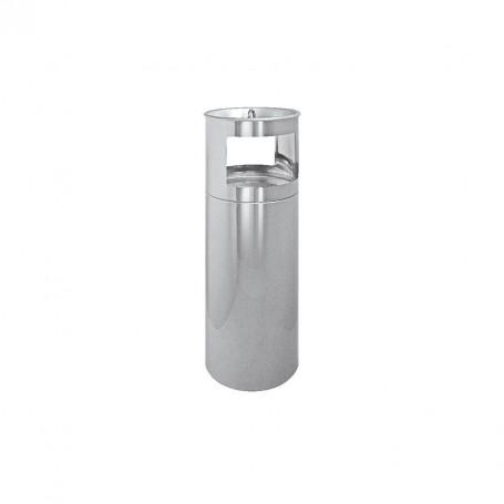 Smoky plus Bin und selbstverlöschender Aschenbecher mm 250 x 800 h