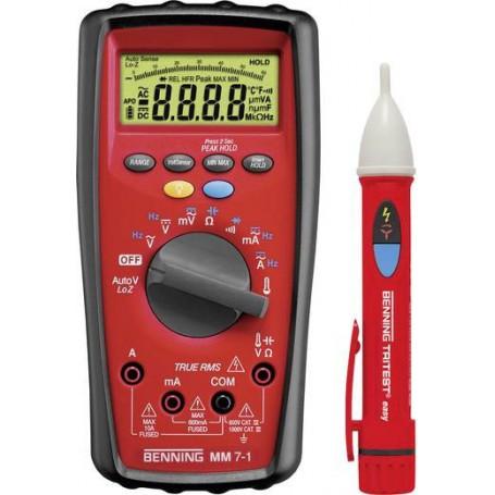Benning MM 7-1 + TRITEST® easy Hand-Multimeter digital