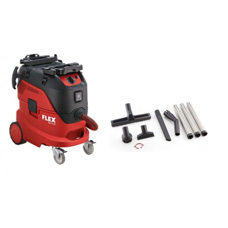 Flex-Tools Sicherheitssauger mit automatischer Filterabreinigung, 42 l, Klasse L