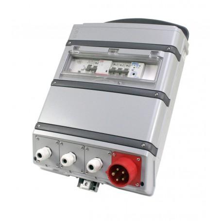 Baustromverteiler mit Stromzähler 16A