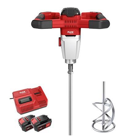 Flex-Tools Akku 2-Gang-Rührer mit 3-Stufen Drehzahlschalter 18,0 V