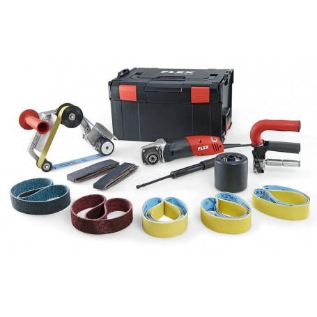 Flex-Tools Satiniermaschine und Rohrbandschleifer TRINOXFLEX im Set