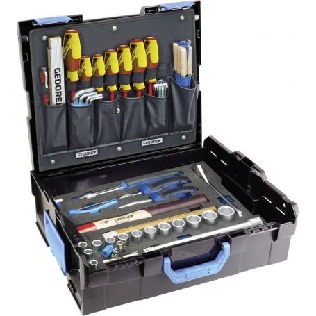 Gedore Handwerker Werkzeugkoffer Bestückt 58 Teilig