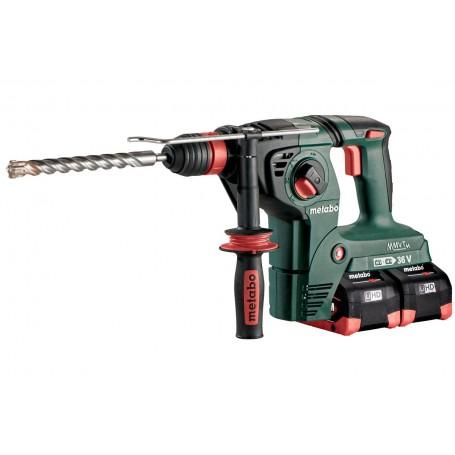 Akku-Hammer 18V 4X8Ah Lihd, LadegerätAsc Ultra, Metaloc, Mit Metabo-Quick-Wechselfutter