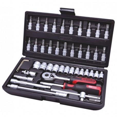 """Ks-Tools Steckschlüsselsatz Superlock 1/4"""" 48-Tlg"""