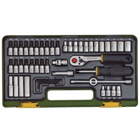 Proxxon Steckschlüsselsatz 1/4 49 Tlg