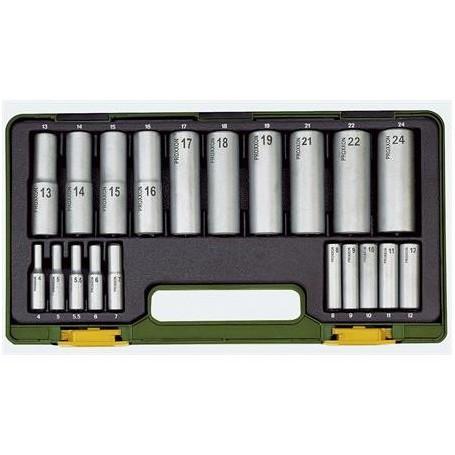 Proxxon Tiefbett-Steckschlüsselsatz 20 Tlg.
